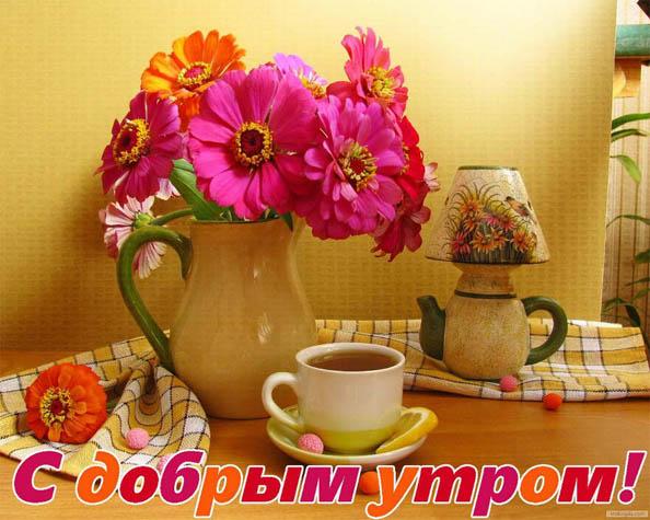 Доброе утро милая картинки - прикольные, красивые, интересные 4