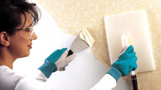 Как отклеить старые обои от стен - эффективные советы и способы 4