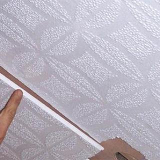 Как правильно наклеить потолочную плитку - советы и секреты 1