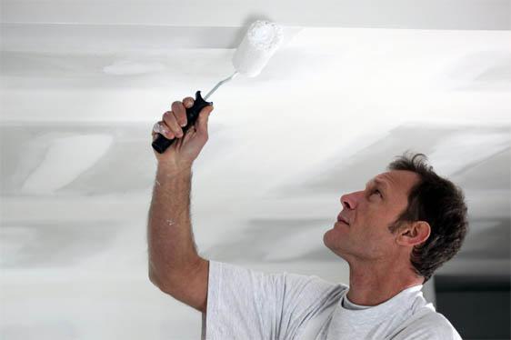 Как правильно покрасить потолок краской - основные советы 2