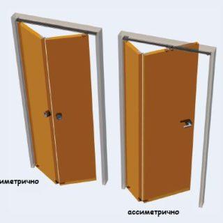 Как установить межкомнатную дверь книжку своими руками - советы и помощь 2