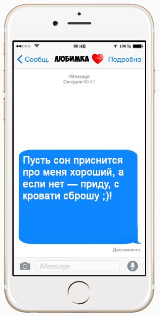 Красивые СМС пожелания спокойной ночи - очень приятные и интересные 13