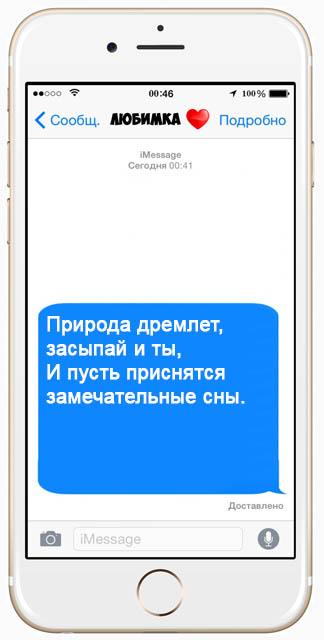Красивые СМС пожелания спокойной ночи - очень приятные и интересные 2