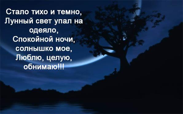 Красивые пожелания спокойной ночи девушке - приятные и нежные 11