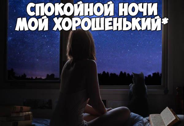 Красивые пожелания спокойной ночи любимому - прикольные, приятные 6