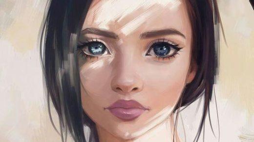 Нарисованные картинки на аватарку - интересные, красивые, прикольные 1