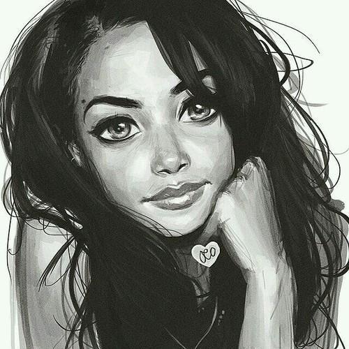 Нарисованные картинки на аватарку - интересные, красивые, прикольные 12