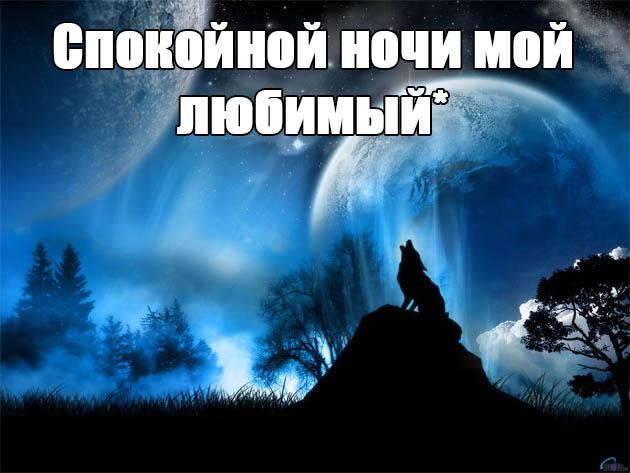 Пожелания спокойной ночи любимому парню - своими словами, красивые, приятные 5