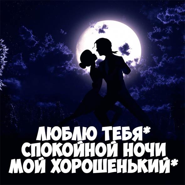 Пожелания спокойной ночи любимому парню - своими словами, красивые, приятные 8