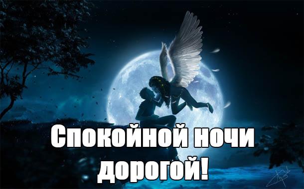 Пожелания спокойной ночи любимому парню - своими словами, красивые, приятные 9