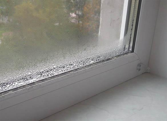 Почему запотевают пластиковые окна в квартире - причины и советы 1