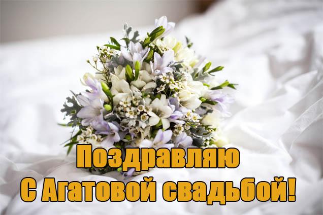 Прикольные картинки С Агатовой Свадьбой поздравления - смотреть, скачать 4