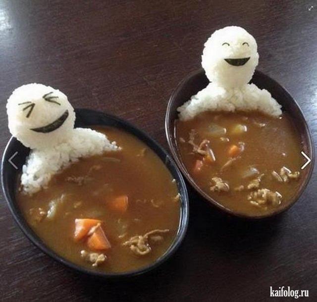 Прикольные картинки еды - интересные, забавные, веселые, аппетитные 2