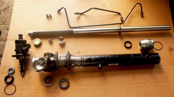 Ремонт рулевой рейки своими руками - способ, рекомендации 2