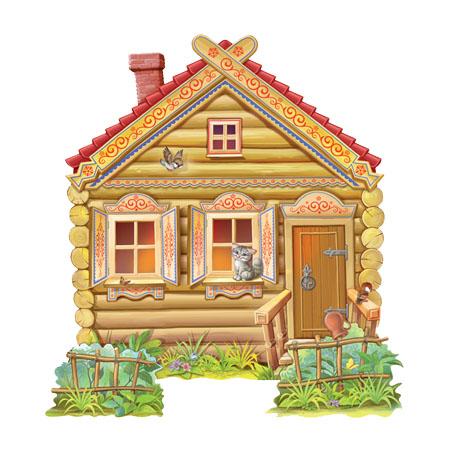 Домик картинки для детей - сказочные, красивые и прикольные 1
