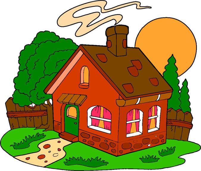 Домик картинки для детей - сказочные, красивые и прикольные 3