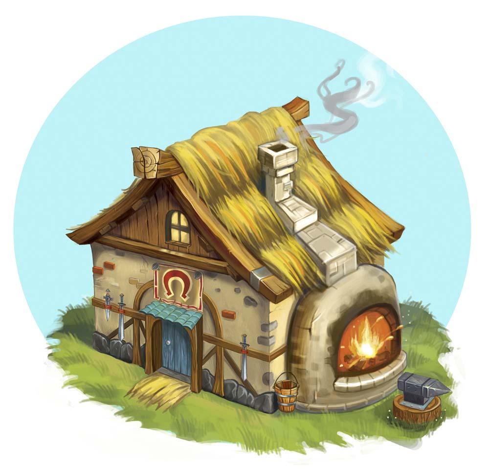 Домик картинки для детей - сказочные, красивые и прикольные 7