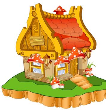 Домик картинки для детей - сказочные, красивые и прикольные 9