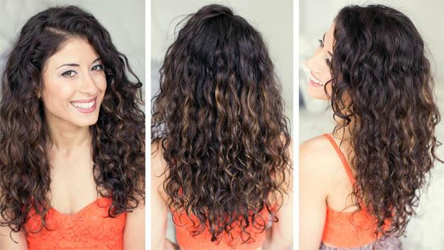 Как сделать так чтобы волосы вились от корней