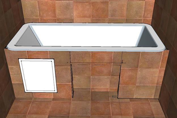 Как сделать экран для ванны своими руками - лучшие способы и советы 13