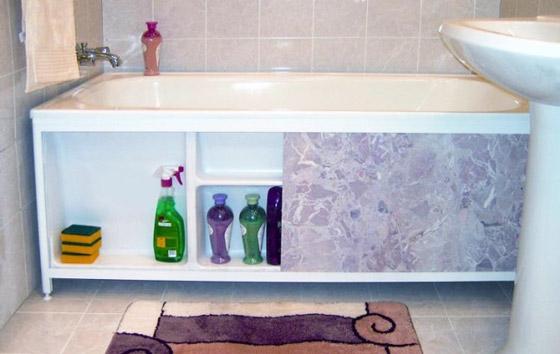 Как сделать экран для ванны своими руками - лучшие способы и советы 2
