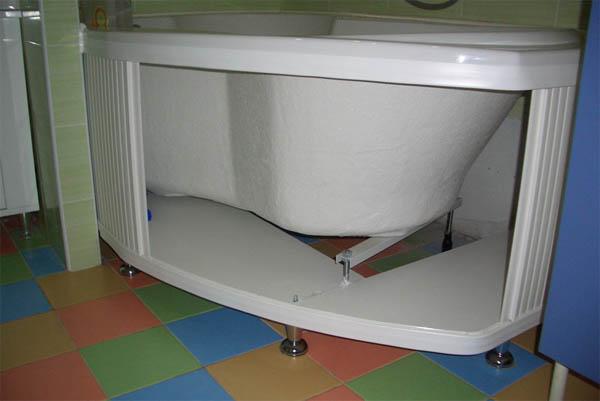 Как сделать экран для ванны своими руками - лучшие способы и советы 3