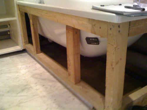 Как сделать самому экран для ванны
