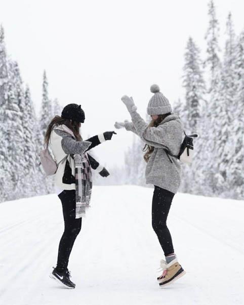 Картинки на аву зима и зимняя пора - прикольные, красивые и классные 1