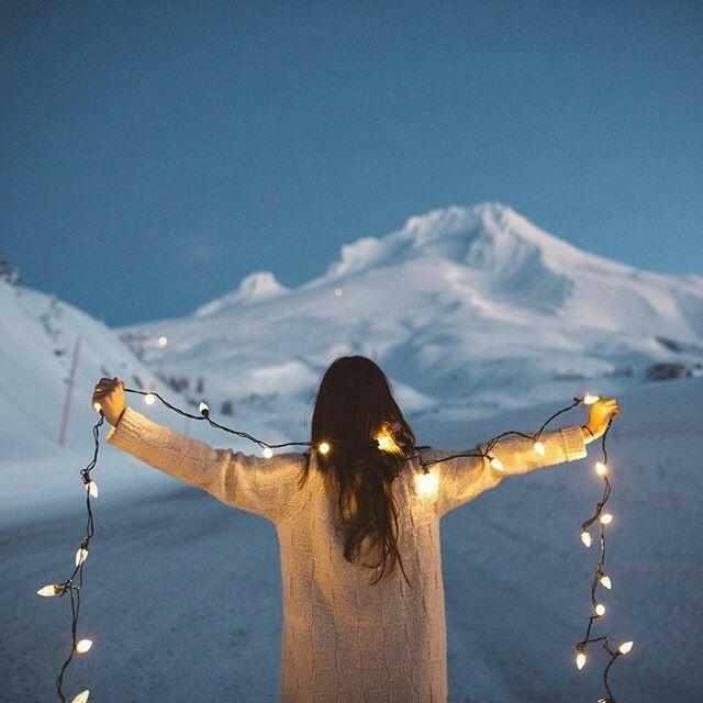 Картинки на аву зима и зимняя пора - прикольные, красивые и классные 8