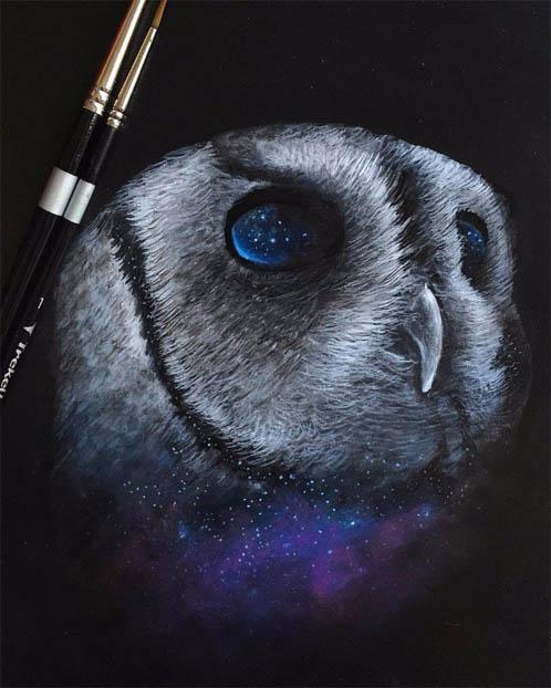 Красивые арт рисунки, картинки - подборка невероятных и удивительных 9