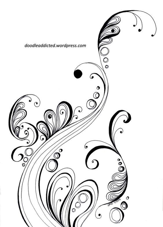Красивые картинки узоры для срисовки - смотреть, скачать бесплатно 6