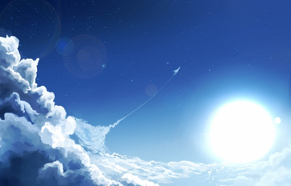 Красивые облака картинки для детей - прикольные, интересные, чудные 10