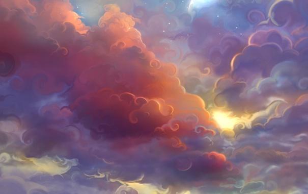 Красивые облака картинки для детей - прикольные, интересные, чудные 4