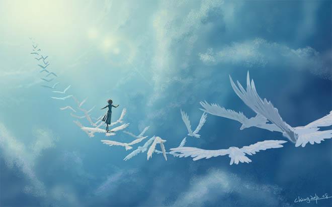 Красивые облака картинки для детей - прикольные, интересные, чудные 5