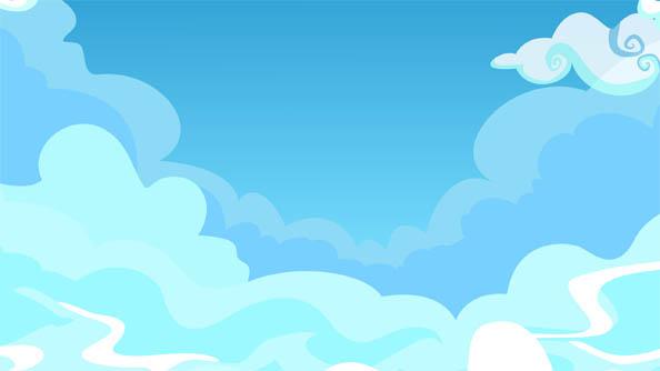 Красивые облака картинки для детей - прикольные, интересные, чудные 9
