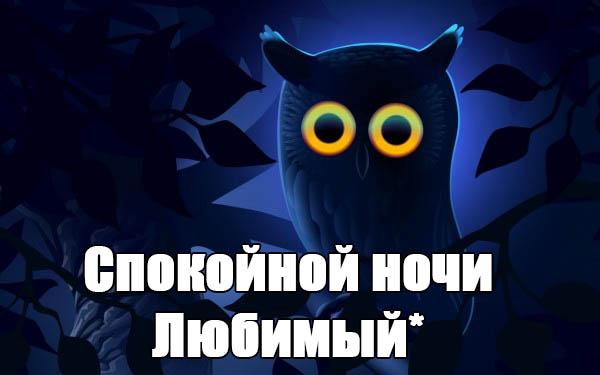 Красивые пожелания спокойной ночи любимому - приятные и нежные 1