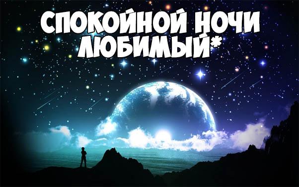 Красивые пожелания спокойной ночи любимому - приятные и нежные 7
