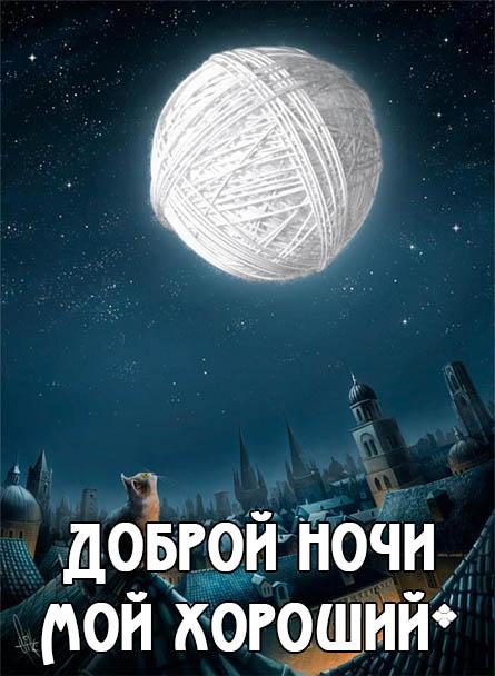 Красивые пожелания спокойной ночи любимому - приятные и нежные 8