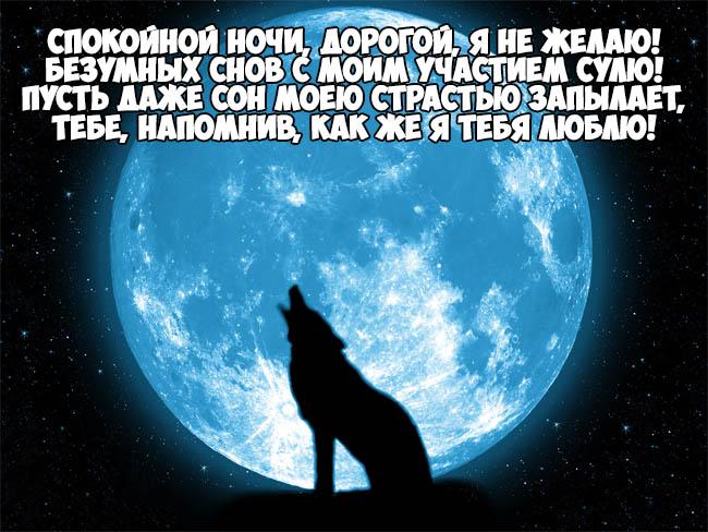 Красивые пожелания спокойной ночи любимому - приятные и нежные 9