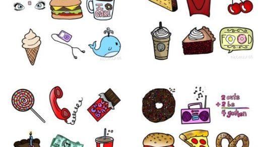 Милые и легкие картинки для личного дневника - скачать бесплатно 10