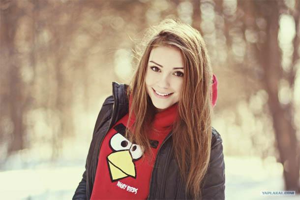 Подборка фотографий самых милых девушек - прекрасные и красивые 13