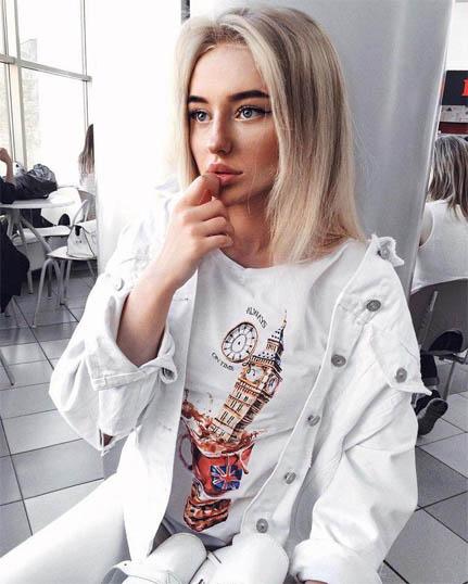 Подборка фотографий самых милых девушек - прекрасные и красивые 4