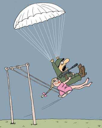 Смешные карикатуры на женщин - прикольные, забавные и веселые 2