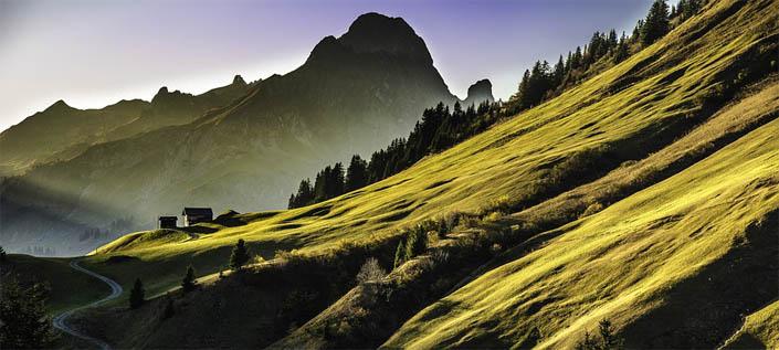Удивительные и красивые горы - фото, картинки, невероятная подборка 11