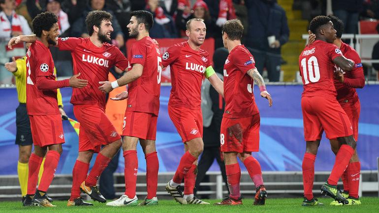 «Спартак» - «Севилья» - 51. Лига чемпионов 17 октября 2017 года 3
