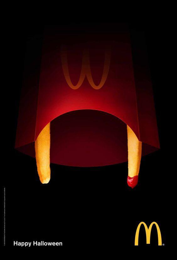 Интересная подборка рекламных творений к Хэллоуину - фото, картинки 4