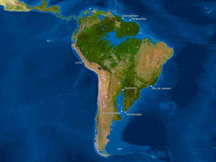 Карта мира после таяния всех льдов. Анализ от National Geographic 3