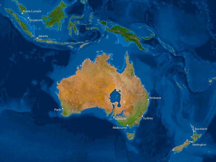 Карта мира после таяния всех льдов. Анализ от National Geographic 6