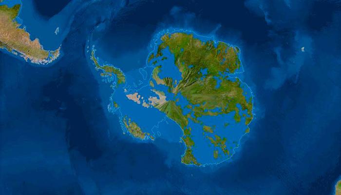 Карта мира после таяния всех льдов. Анализ от National Geographic 7