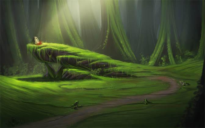 Красивые картинки леса для детей - смотреть, скачать бесплатно 1